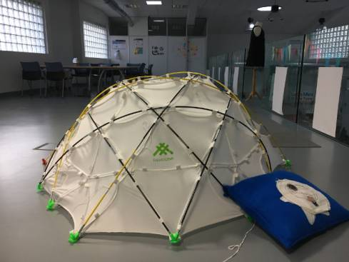Interactive Dome, by Nuria Robles